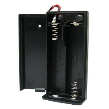 جا باتری قلمی 2 تایی + درب + کلید