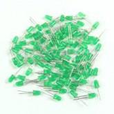 LED سبز مات 3mm - بسته 1000 تایی