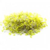 LED زرد مات 3mm - بسته 1000 تایی