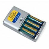 شارژر 4 تایی باتری های قلمی نیکل متال / مدل 4100