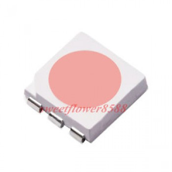 SMD LED صورتی - سایز 5050 - بسته 10 تایی