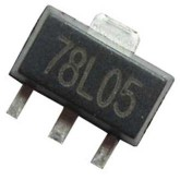آی سی رگولاتور 78L05 - SMD - بسته 5 تایی