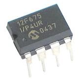 میکروکنترلر PIC12F675 - DIP