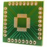 بورد تبدیل SMD به DIP ـ 32 پایه / مربعی