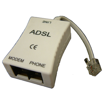 ADSL Spliter (فیلتر جداساز تلفن و ADSL) | ساخت PLANET