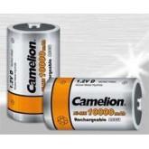 باتری شارژی 1.2 ولتی CAMELION سایز D بسته 2 تایی