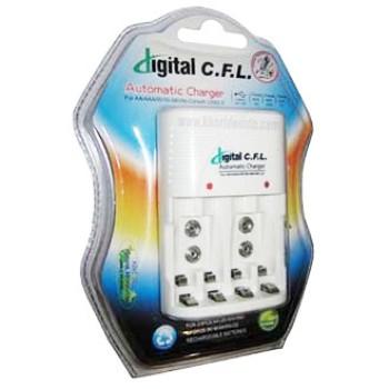 شارژر 4 تایی (نیم قلمی + قلمی + کتابی) - مدل CFL 400