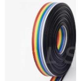 کابل فلت رنگی 40 رشته - یک متر