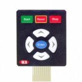 صفحه کلید فلت - مدل منویی 8 کلید