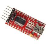 ماژول مبدل USB به TTL با آی سی FT232RL (خروجی مینی USB)