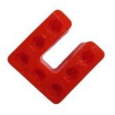 سازه پلاستیکی U شکل 7 سوراخ