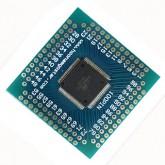 میکرو کنترلر ATXMEGA128A مونتاژ شده (مربعی)