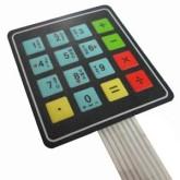 صفحه کلید فلت 4*4 | مدل ماشین حسابی
