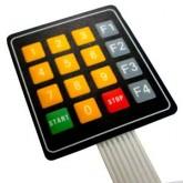 صفحه کلید فلت 4*4 - مدل منویی