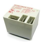 رله فیش خور (کولری) 12 ولت 30 آمپر - مدل NT90TNCE12