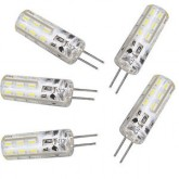 لامپ LED سوزنی 12 ولت (ژله ای) - آفتابی