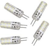 لامپ LED سوزنی 12 ولت (ژله ای) - مهتابی