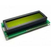 LCD کاراکتری 16*1 بک لایت سبز