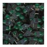 LED قاب دار سبز - 5mm - بسته 10 تایی