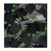 LED قاب دار سبز - 3mm - دوبل - بسته 10 تایی