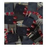 LED قاب دار قرمز - 3mm - دوبل - بسته 10 تایی