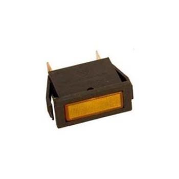 چراغ سیگنال 14*33 میل 110 ولت - نارنجی
