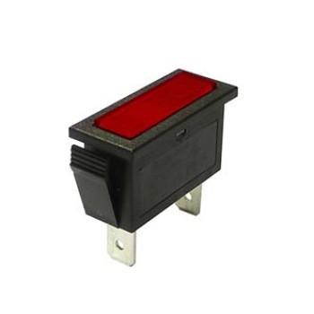 چراغ سیگنال 14*33 میل 110 ولت - قرمز