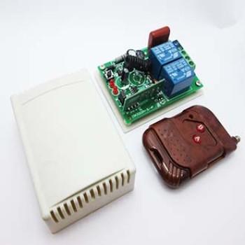 گیرنده + ریموت 2 کانال + جعبه | 220 ولت