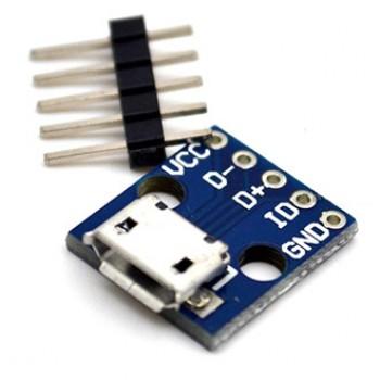 بورد تبدیل MICRO USB به DIP