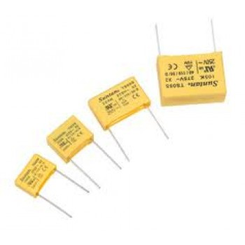 خازن MKT ـ 3.3 نانو - 275 ولت - بسته 10 تایی
