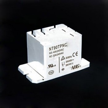 رله فیش خور تک کنتاکت - 220 ولت - 30 آمپر NT90TPNCE220V