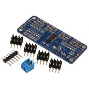 ماژول درایور PWM / سروو 12 بیتی 16 کاناله PCA9685