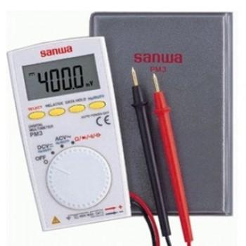 مولتی متر جیبی SANWA ژاپنی - مدل PM3
