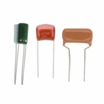 خازن پلی استر 100 نانو - 100 ولت - بسته 5 تایی