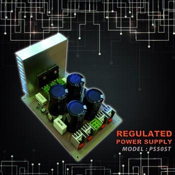 برد منبع تغذیه دوبل رگوله شده - 50 ولت - مدل PDS50ST