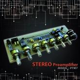 برد پری آمپلی فایر استریو با ورودی میکروفون - مدل PTM7