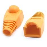 کاور سوکت شبکه نارنجی - بسته 10 تایی