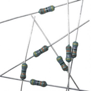مقاومت 1.1 کیلو اهم - 1/4 وات - 1 درصد - بسته 10 تایی