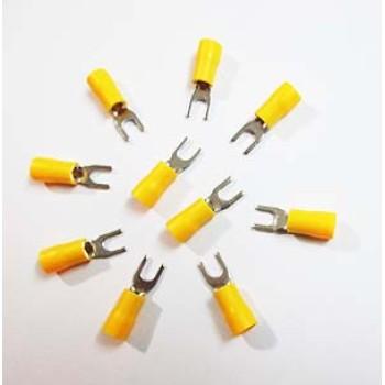 سر سیم مدل U - زرد (بسته 10 تایی)
