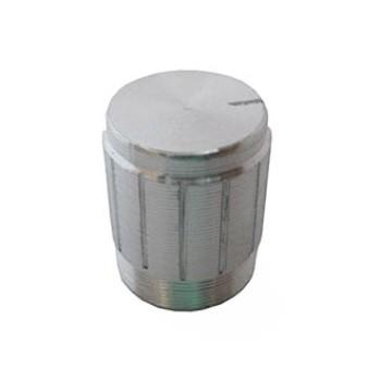 سر ولوم نقره ای طرح فلز - قطر 1.5 سانتی متر