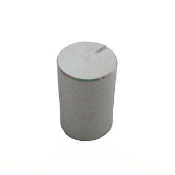 سر ولوم نقره ای طرح فلز - قطر 1 سانتی متر