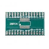 بورد تبدیل SMD به DIP ـ 28 پایه