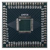 بورد تبدیل SMD به DIP ـ 64 پایه مربعی - TQFP