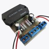 آمپلی فایر مونتاژ شده 80 وات با STK402-070