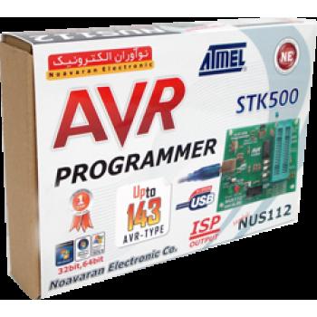 پروگرامر USB میکروکنترلرهای STK500) AVR) مدل NUS112