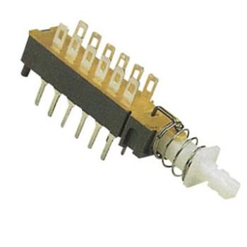 کلید خوابیده دو طرف پایه - 12 پایه (ON-OFF)