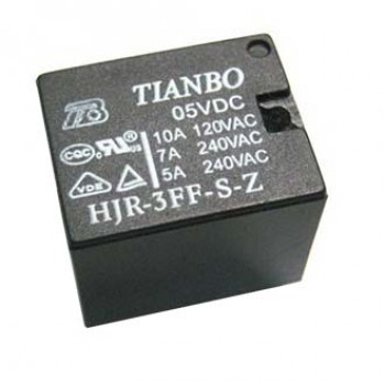 رله پایه میلون 5 ولت 10 آمپر TIANBO - بسته 50 تایی