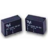 رله کتابی 2 کنتاکت 24 ولت TTI / مدل TRI-24VDC-SB-2AM