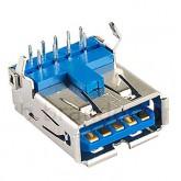 کانکتور USB-3 نوع A - مادگی رایت