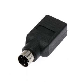 سوکت USB (مادگی) به تبدیل PS2 (نری)